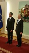 El Embajador Guillermo Azrak fue condecorado por Bulgaria